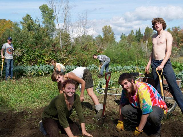 Rekreační zahradničení – rýpání a vrtání v zemi