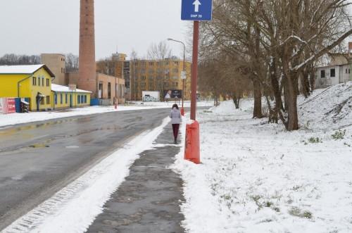 zimní ulice